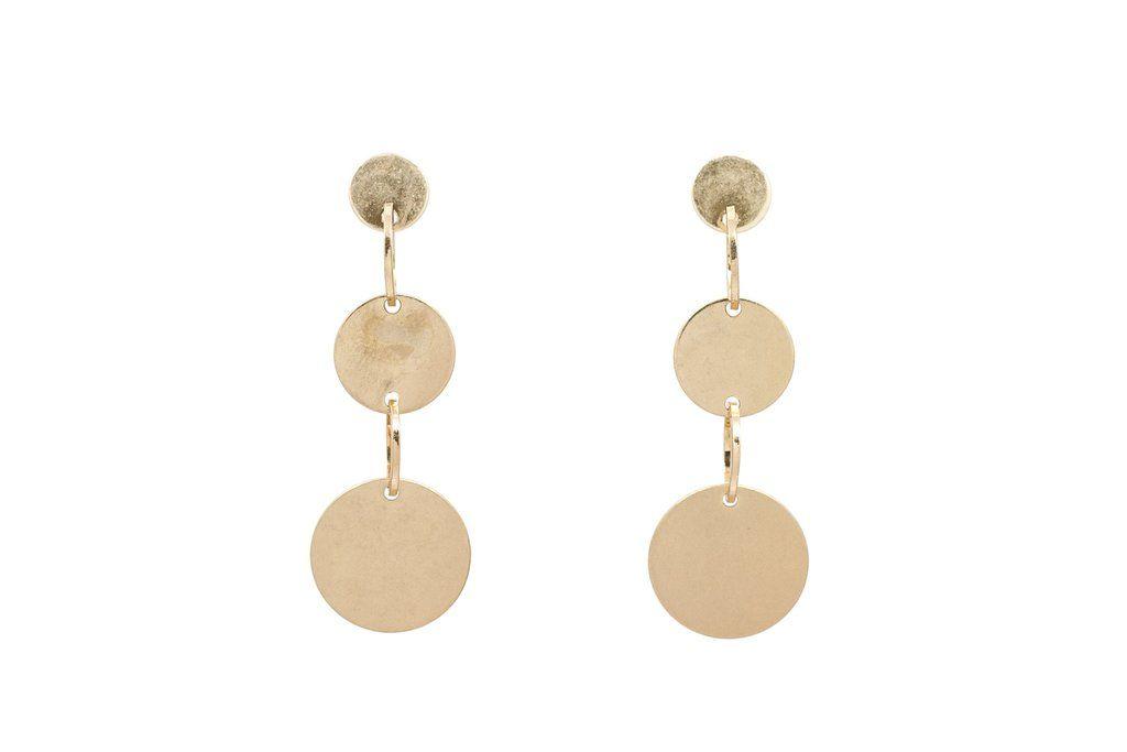 Drop Stud Earrings $24 by mooreaseal.com