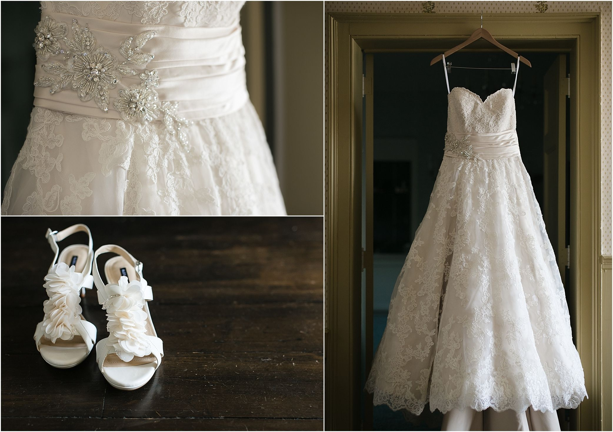 Beautiful lace wedding gown at crescent bend in knoxville tn