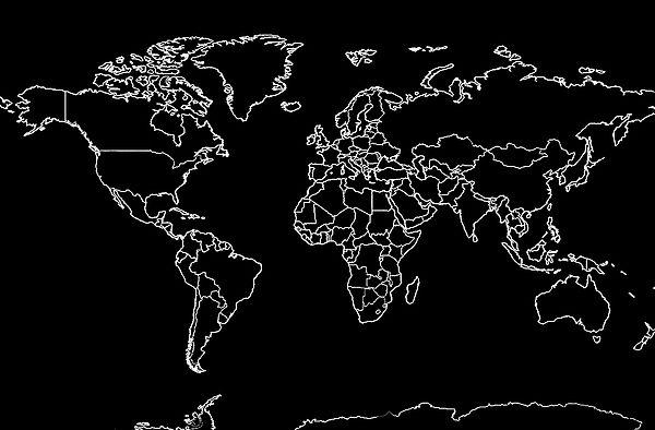 World Map Black And White By Athena Mckinzie World Map Wallpaper Black Background Wallpaper Black Phone Wallpaper Black aesthetic black wallpaper laptop