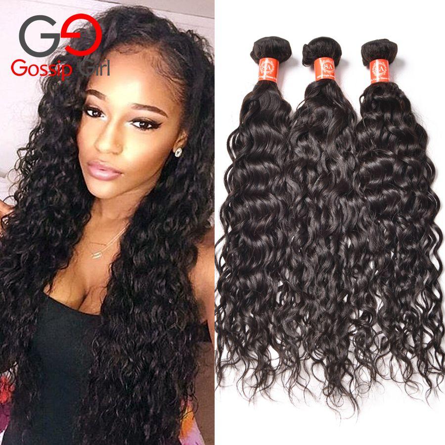 8a malaysian hair 4 bundles natural wave malaysian water