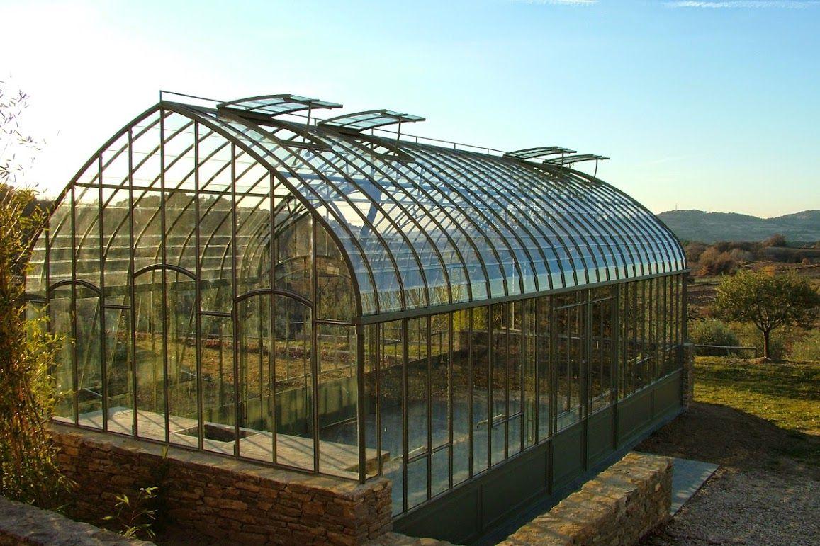 Serre de jardin en fer forgé, Olive | Architecture_serre ...