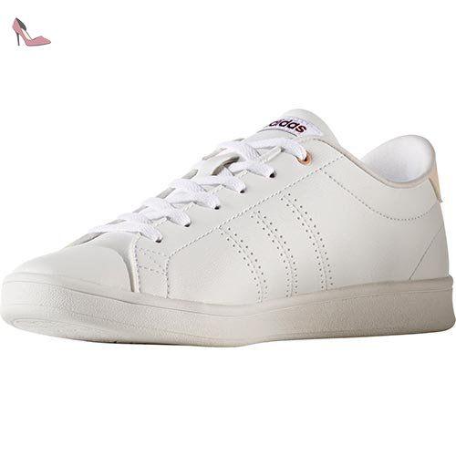 competitive price 45c95 d272b Adidas Advantage Cl Qt W, Chaussures de Running Femme, Multicolore (Ftwr  White