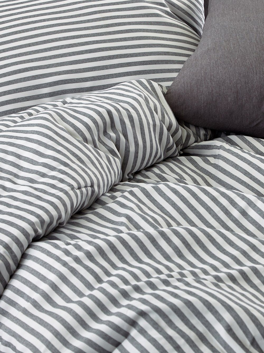 Just My Stripe Sleep Comforter For Dorms Apartments Roomify Comforters Super Soft Comforter Photo Walls Bedroom