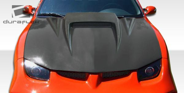 Duraflex 95 02 Pontiac Sunfire Spyder 3 Hood Kit