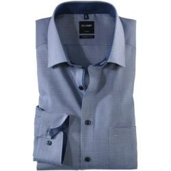 Olymp Luxor Hemd, modern fit, New Kent, Marine, 38 Olympolymp