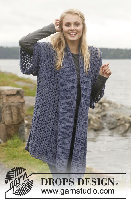Verwonderend Gehaakt vest met sjaalkraag | Knit vest pattern, Crochet coat EA-62
