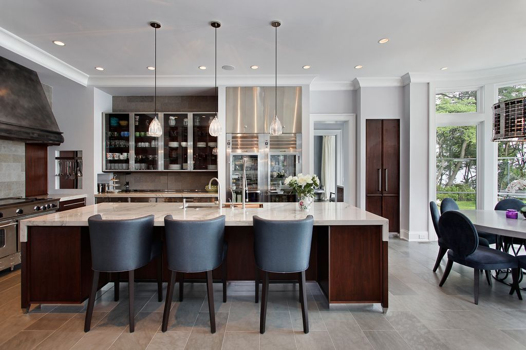 Top Home Design Trends For 2017 One Hot Look Will Be Carrera Marble Countertops With Gray And White Patterns