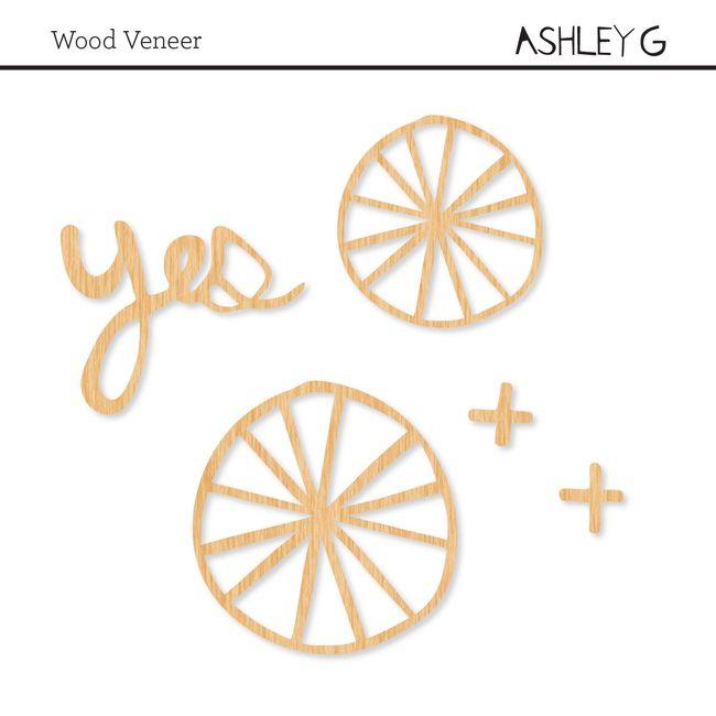 Wood Veneer Shapes At Studio Calico