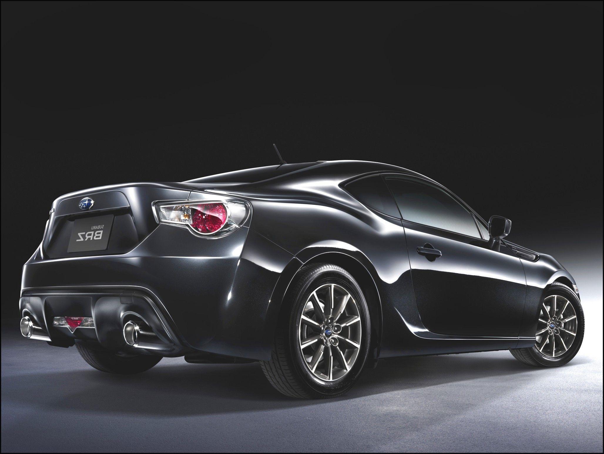 Subaru BRZ Black Picture