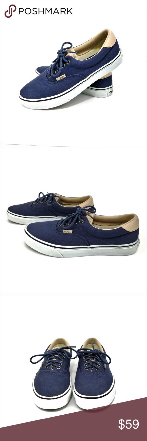 6e0a0ff0114 HOST PICK!!! Vans Navy Era 59 Sneakers Skate Shoes Vans Era 59 ...