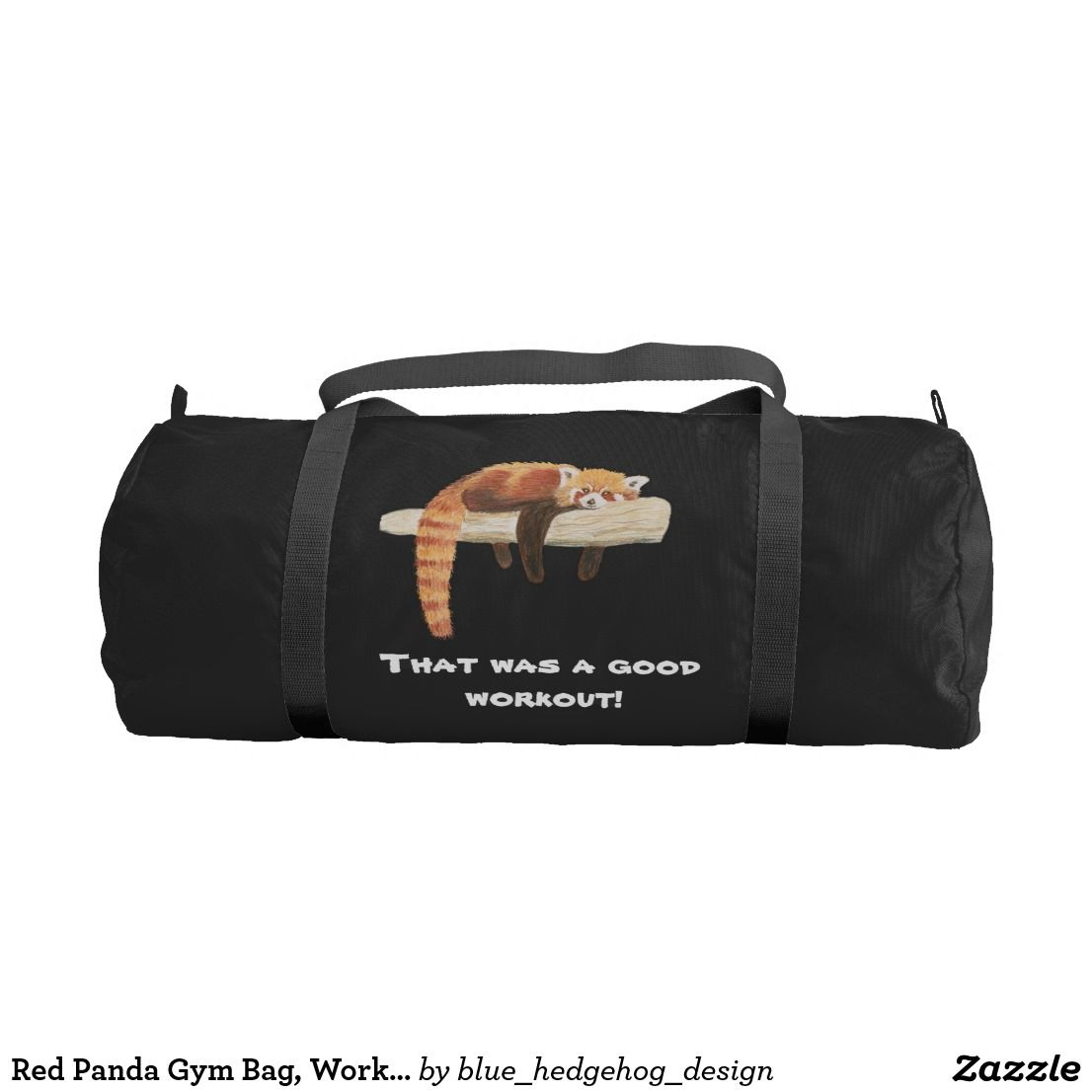 Red Panda Gym Bag cf7b59528a696