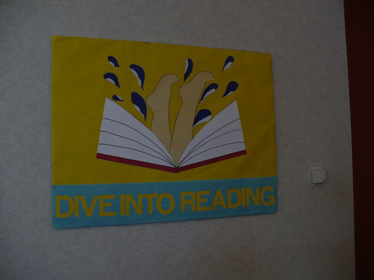 Dive Into Reading At Haggard Library Aug