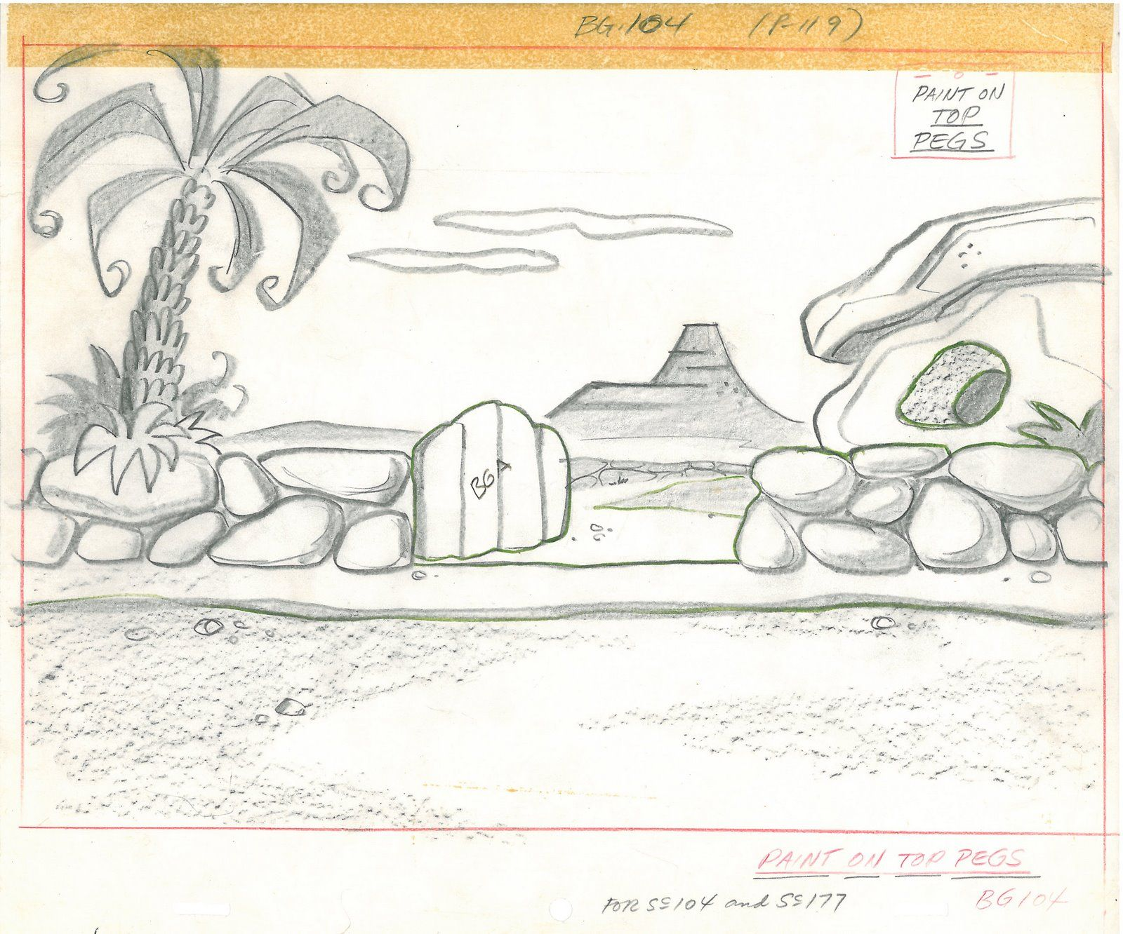 Flintstones Background