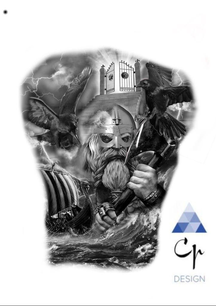 Twuvgsy77hw91 Norse Tattoo Viking Tattoo 14