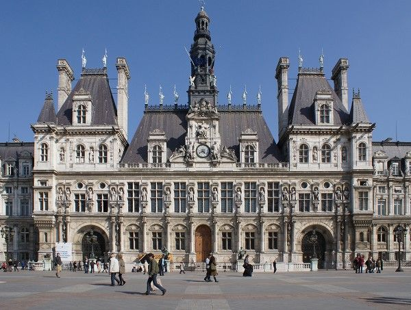Place De L Hotel De Ville Paris 4 Sup Th Sup Paris Paris