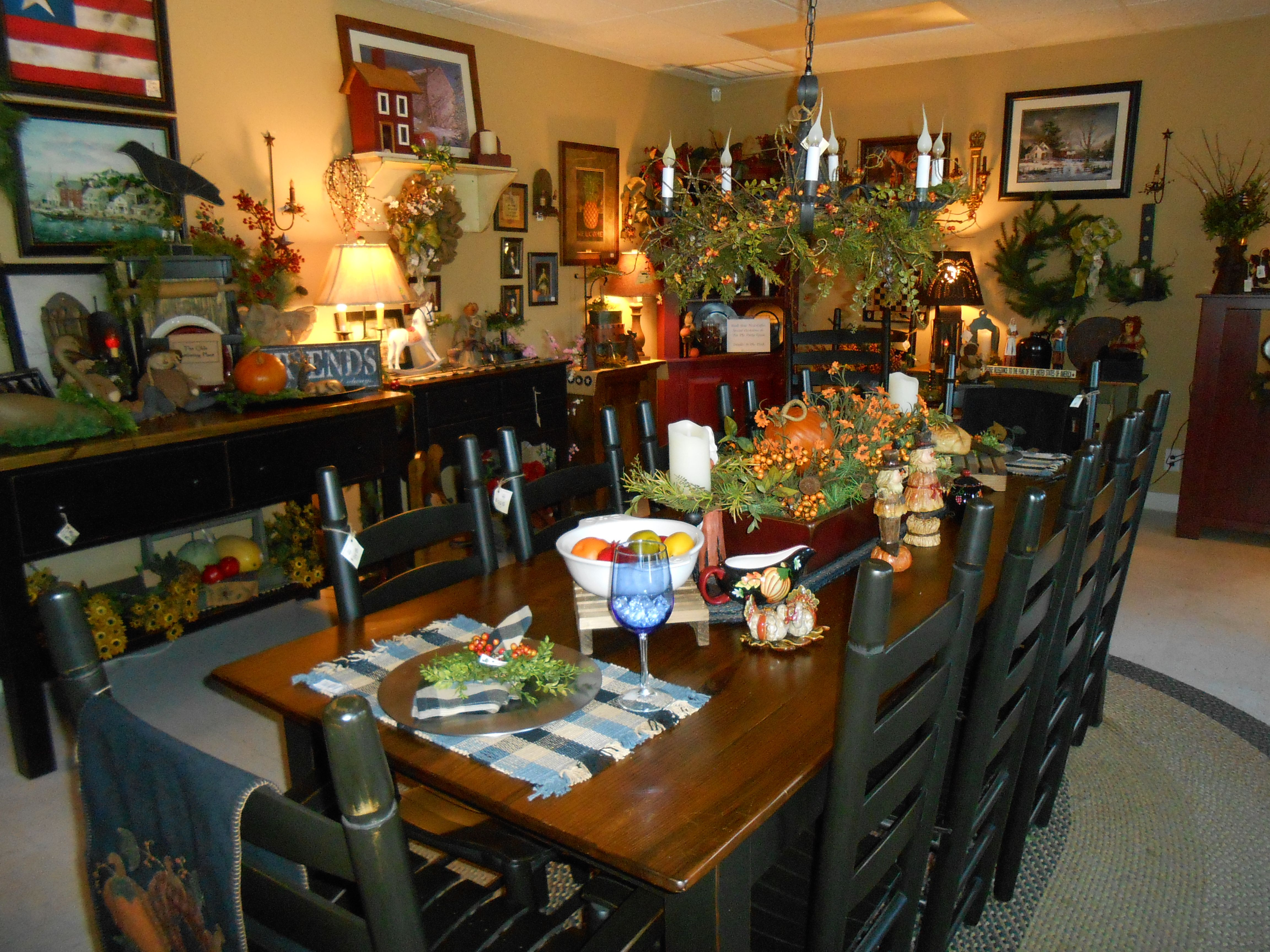 Attractive Furniture And Accessories By W. Harris And Sons For The Old Mercantile In  Clarksville Tn