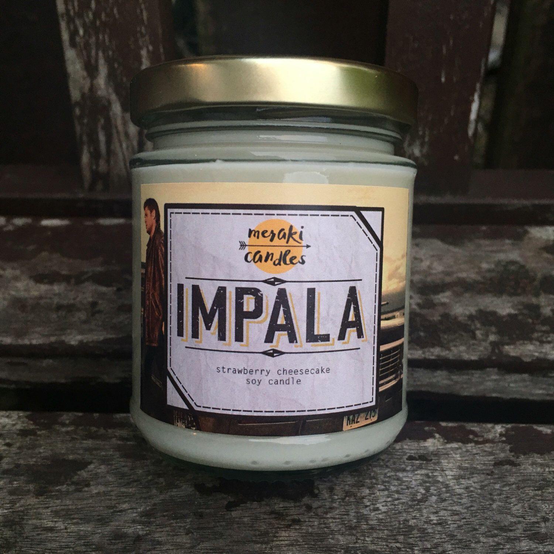 Impala by MerakiCandles on Etsy https://www.etsy.com/uk/listing/485896721/impala