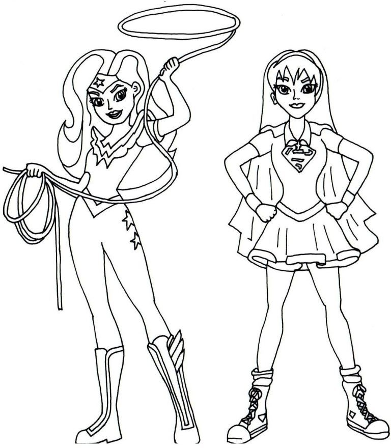 Dc Superhero Girls Coloring Pages Best Coloring Pages For Kids Superhero Coloring Pages Superhero Coloring Coloring Pages For Girls
