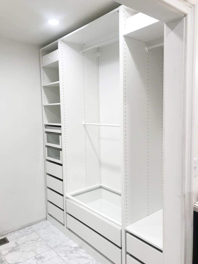 Ikea Wardrobe Leaning To One Side Installing Our Ikea Pax Wardrobes Plus Tips For Planning