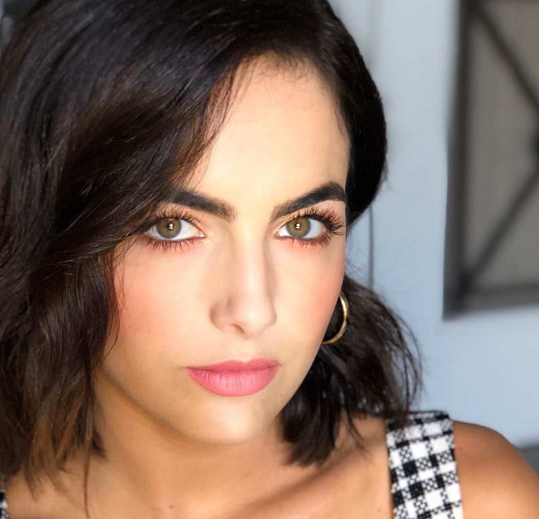 Camilla Belle On Instagram Glamicorn Getting Some Closeups Yesterday Brettglam Latergram Glam Camilla Belle Thick Hair Styles Hot Iron Curls
