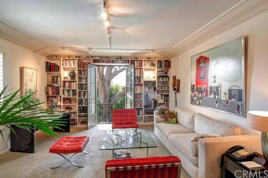 So many built-ins for books in Beverly Hills, CA
