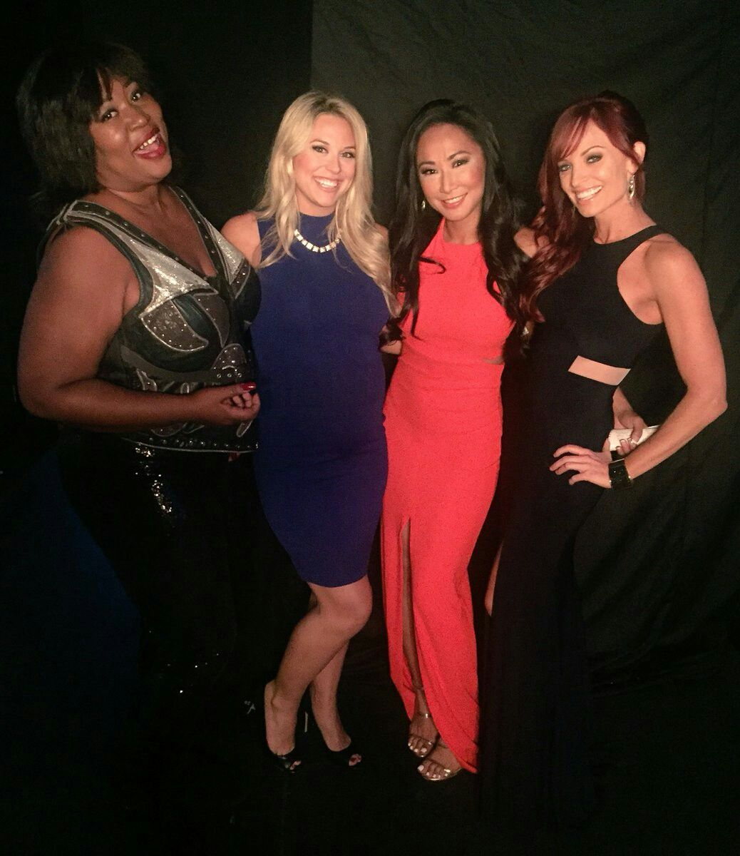 Kia Steven Taryn Terrell Gail Kim Christy Hemme Fashion Women Formal Dresses