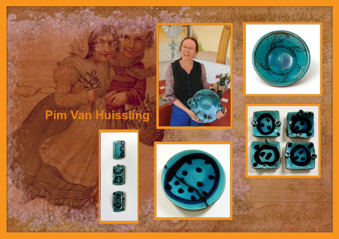 Pim Van Huissling is going to exhibit at Wardlow Mires Pottery and Food Festival. 12th and 13th September 2015.