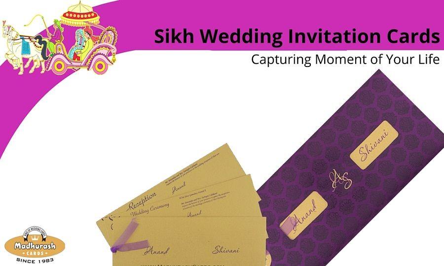 Fabulous Collection of #Sikh and #Punjabi #Wedding #Invitation ...