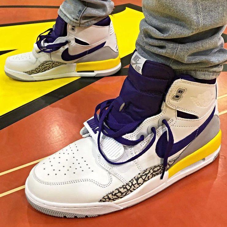 Nike Air Jordan Legacy 312 LA Lakers