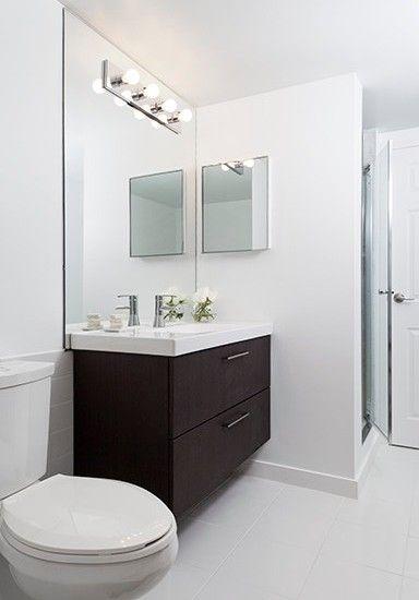 Modern Bathroom Condominium Design, Pictures, Remodel, Decor and Ideas - page 4