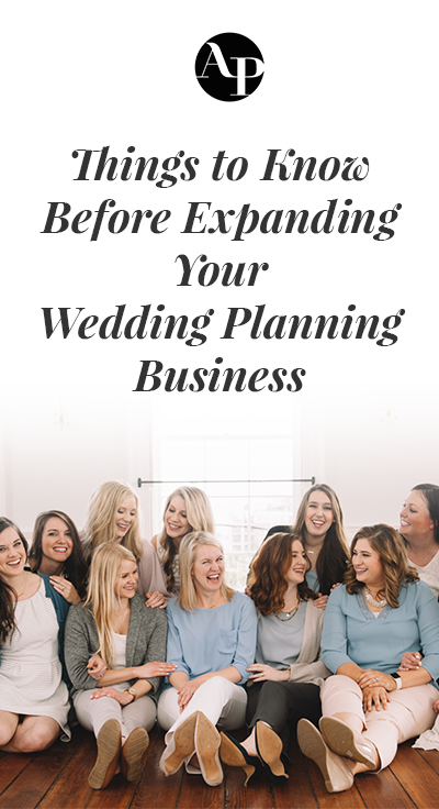 Thinking about expanding you wedding planning business to new locations? Read these tips on recruiting and hiring new planners and how to pick the new location from Chancey Charm!