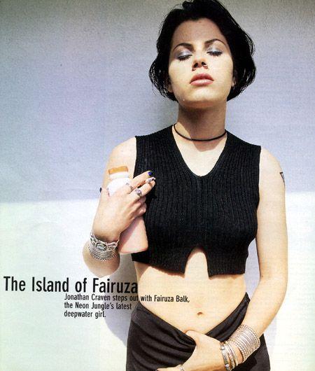 Fairuza balk in bikini does