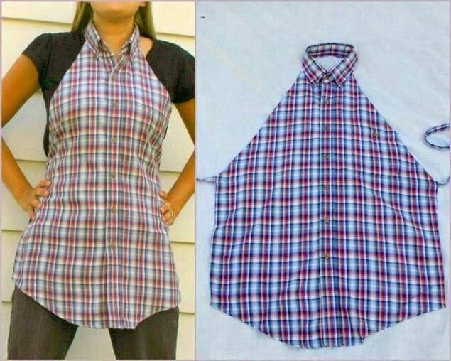 Good IDEA ,made from old shirt