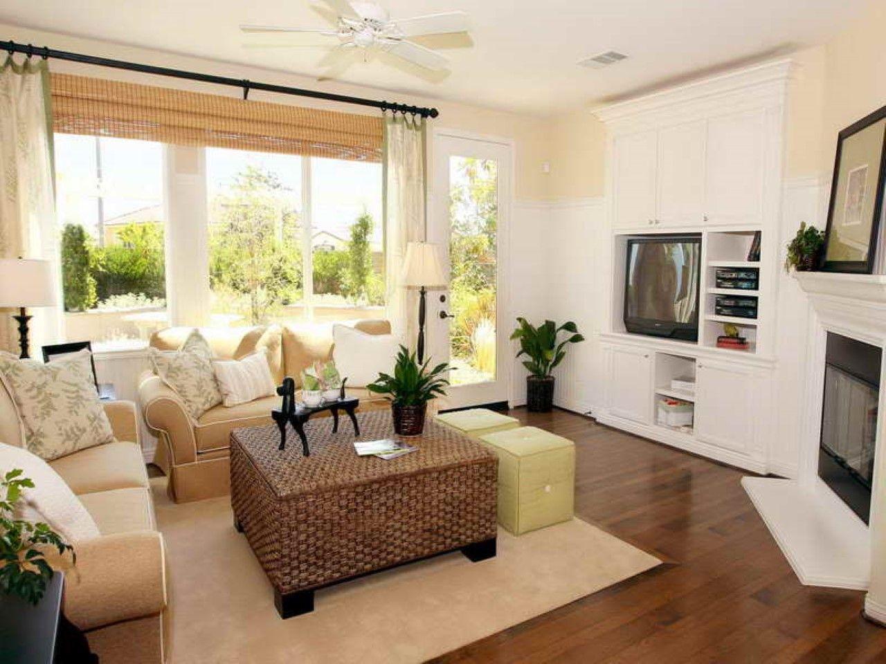 Dark Wood Floors In Living Room Amazing Tile | LIVING ROOM SPACES ...