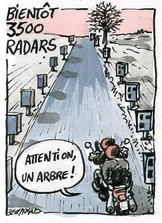Bientôt 3500 radars…
