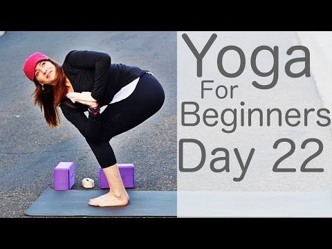 yoga for beginners 30 day challenge day 22 with lesley
