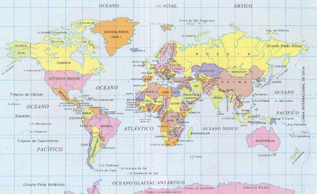 O Mapa Mundi A Mentira A Que Ja Nos Habituamos Mapa Mundi