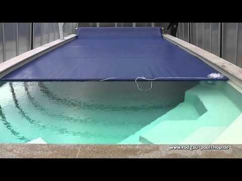 Solarfolie Geobubble 400 My Blau X2f Schwarz Youtube Poolabdeckung Solar Schwimmbader