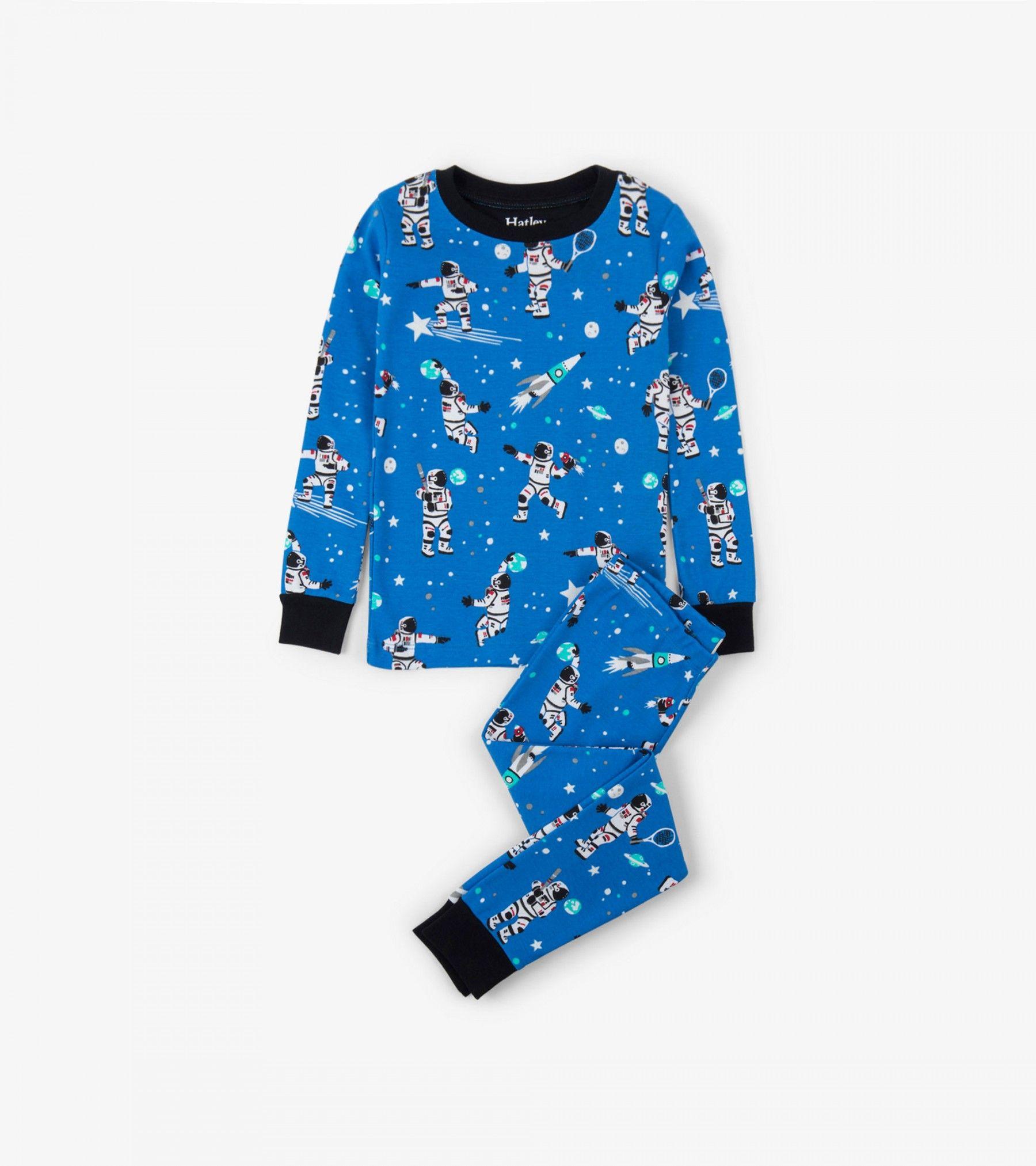 Athletic Astronauts Glow in the Dark Organic Cotton Pajama