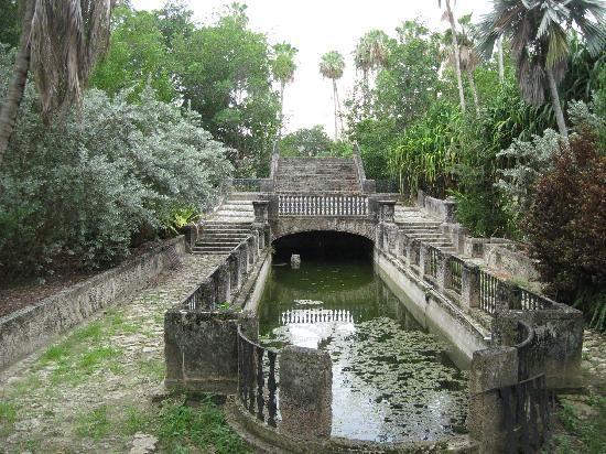 Gardens Villa Vizcaya Italianate Architecture Miami FL Villa