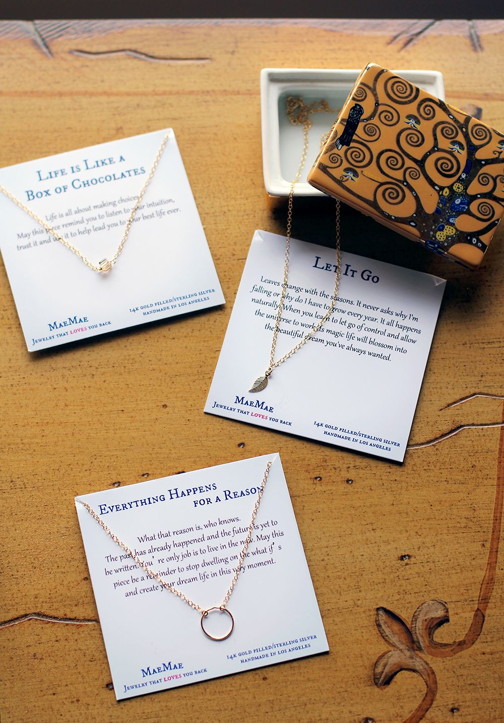 Perfect everyday necklaces. These pieces are simple yet pack powerful messages. Share in our journey of change and acceptance.