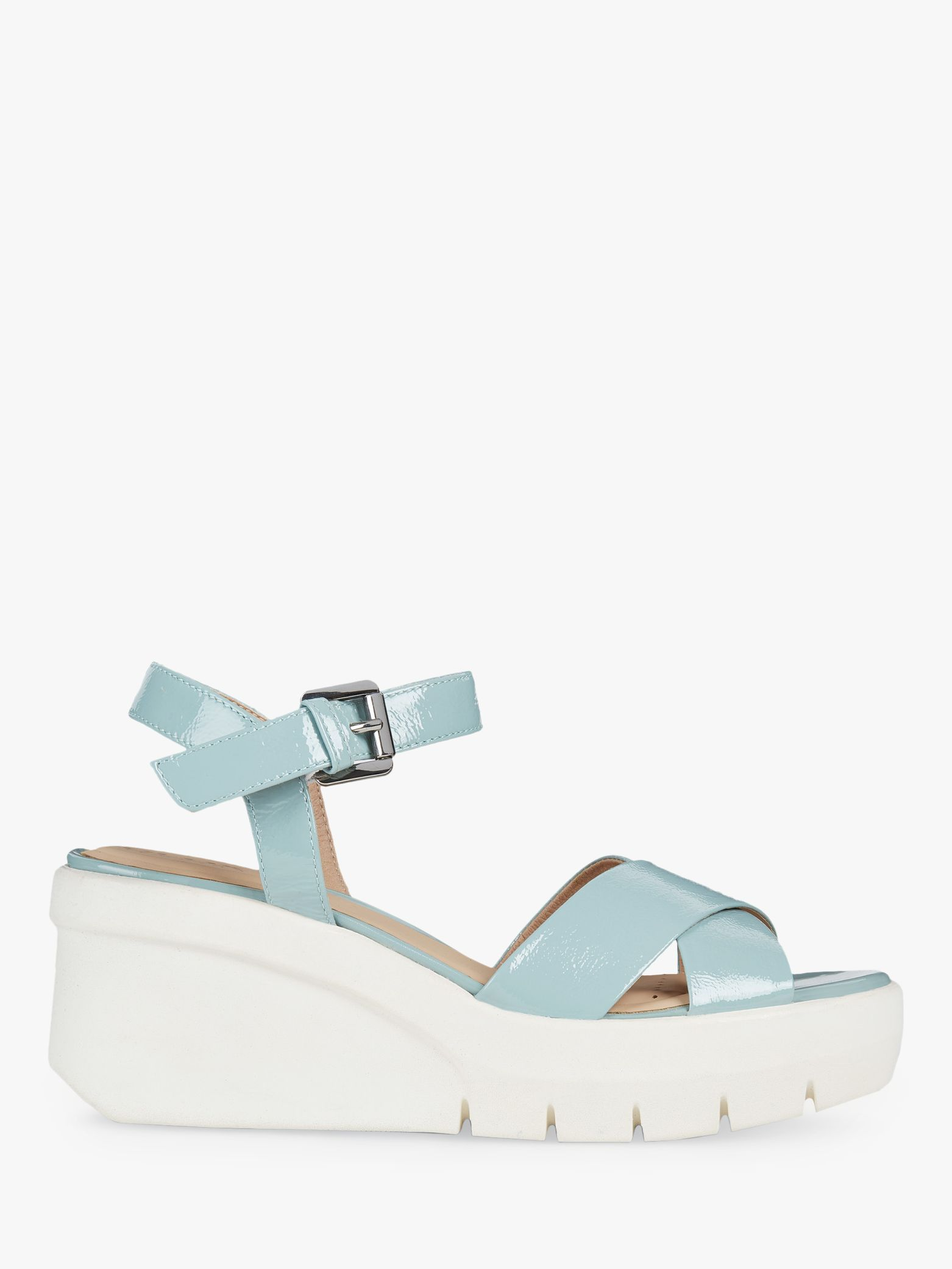 Geox Women's Torrence Flatform Sandals, Light Green