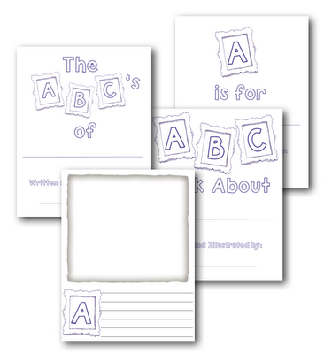 photo regarding Printable Abc Book Template identified as ABC e-book templatecute finish of the yr sport. ABCs of