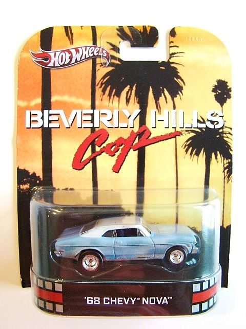 Hot Wheels Beverly Hills Cop 68 Chevy Nova Hot Wheels Hot