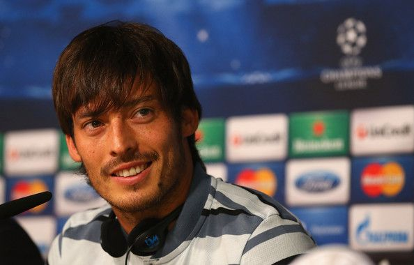 David Silva Photos Photos Manchester City Training And Press Conference
