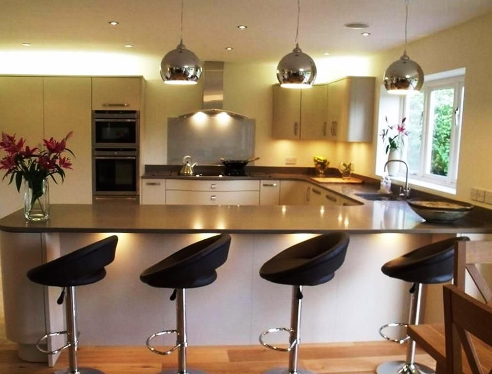 Considering L Shaped Kitchen Island Home Design With Images Breakfast Bar Kitchen Island Breakfast Bar Kitchen Kitchen Bar