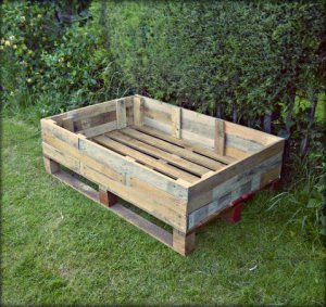 Pallet Raised Bed From Me Oh My Crafts