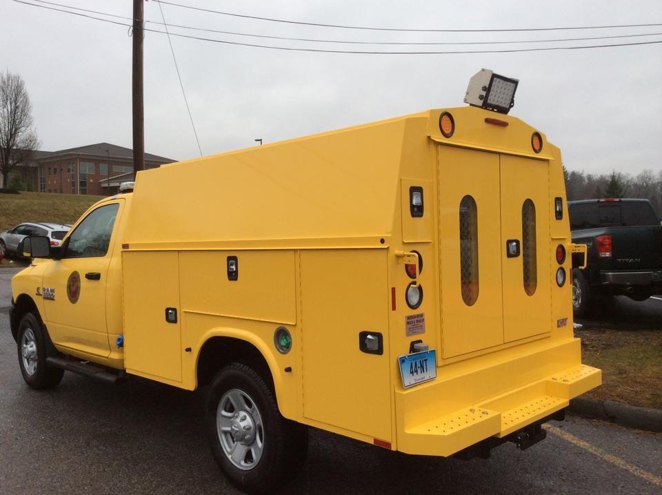 Knapheide kuv body truck bodies flatbed trailer for - Commercial van interior accessories ...
