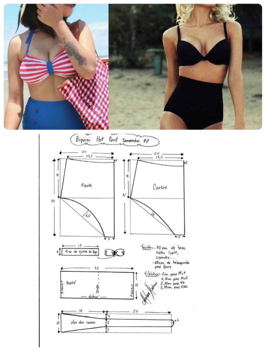 Pin de Ana Lemes en moldes | Sewing, Underwear pattern y Sewing patterns