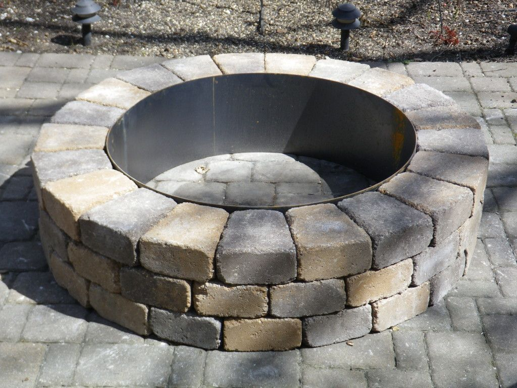 Fire pit ring with exterior fire pits and fire rings for Buy outdoor fire pit